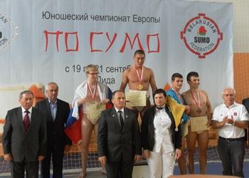 Сумоисты из Артемовска привезли из Беларуси